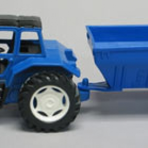 Farm Tractor with Trailer 6 CT