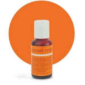Sunset Orange .70 Fluid OZ Liqua Gel