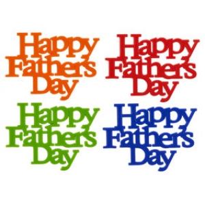 Father's Day Script 3 1/4″ x 4 1/2″ 12 CT