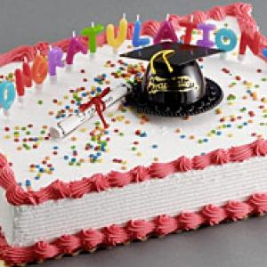 Congradulations Grad Cake Kit 6 CT
