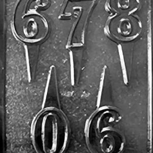 Number Picks 6-0  Candy Mold 5 CAV