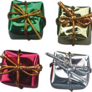 Wrapped Presents Fancy 48 CT