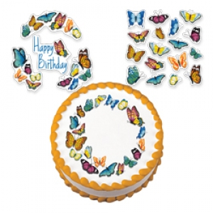 Butterfly Garden Variety Edible Image 12 CT