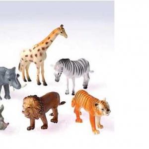 Wild Animals 4″ 12 CT