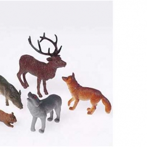 Woodland Animals 4″ 12 CT