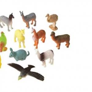Mini South Americian Animals 1 1/4″ – 2 1/4″ 12 CT