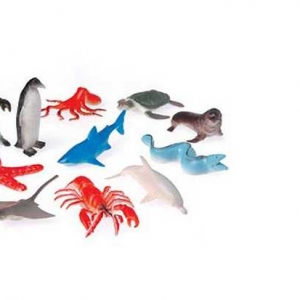 Sea Animals Assorted 2 1/2″ 12 CT