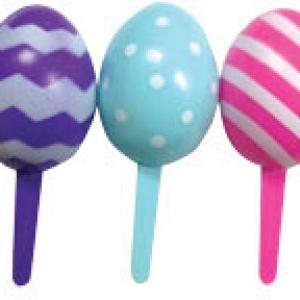 Easter Egg 3D pick 3″ 72 CT