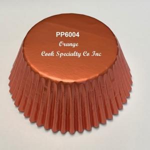 Orange Foil Cup 2″ B x 1 1/4″ W 500 CT