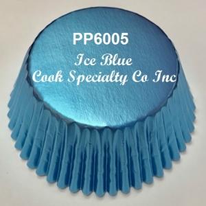 Ice Blue Foil Cup 2″ B x 1 1/4″ W 500 CT