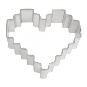 Heart Pixelated Cutter 3 1/8″