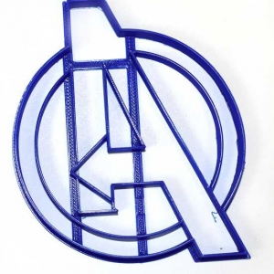 Avengers Logo Marvel Superhero Cookie Cutter