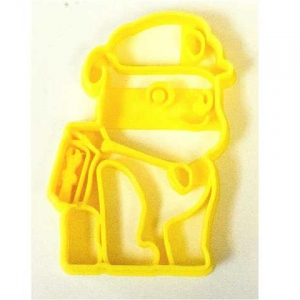 Paw Patrol Rubble Construction Pup Cookie Cutter