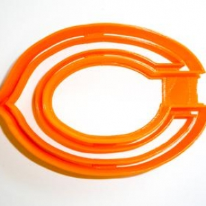 Chicago Bears Cookie Cutter