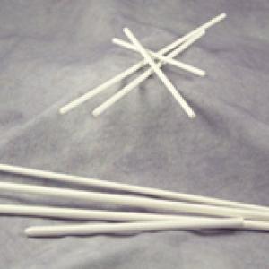 Sucker Stick White 6″x 5/32″ 1,000 CT