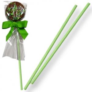 Sucker Stick Green 4″ x  5/32″ 100 CT