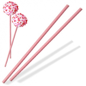 Sucker Stick Pink 8″ x 5/32″ 1,000 CT