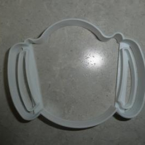 Surgical Mask Cookie Cutter