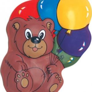 Teddy Bear E-Z Tops 5″ 36 CT